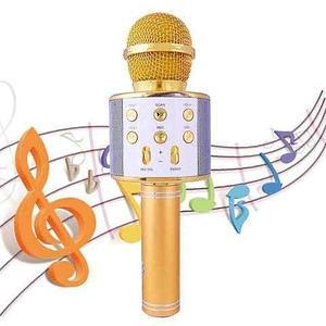 Микрофон беспроводной MAGIC KARAOKE со встроенным динамиком [USB; MP3; Bluetooth; TF карта]