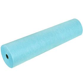 Простыни одноразовые  рулон  голубые 18 грамм  100шт, 200*80см