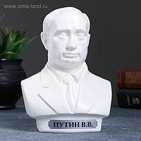 Бюст Путин средний белый 16см