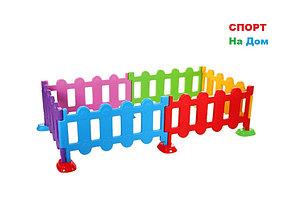 Пластиковый забор для детских площадок