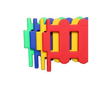 Пластиковый забор для детских площадок, фото 2