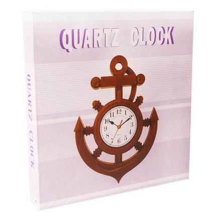 Часы-якорь настенные QUARTZ CLOCK, фото 2