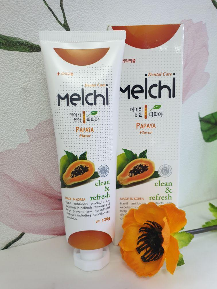 Зубная паста Meichi tropic Dental Care Clean & Fresh Papaya