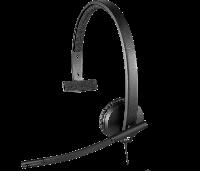 Проводная USB гарнитура Logitech H570e Mono (981-000571), фото 1