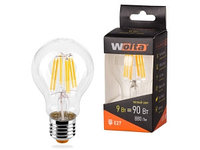 Лампа LED  WOLTA FILAMENT  A60 9Вт 900лм E27 3000K 1/10/50
