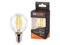 Лампа LED  WOLTA FILAMENT  G45 7Вт 730лм E14 3000K 1/10/50