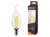 Лампа LED  WOLTA FILAMENT св н/в CD35  5Вт 545лм E14 3000K 1/10/50