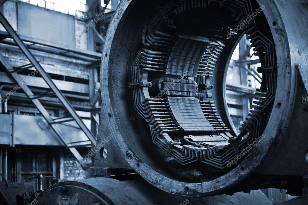 Ремонт высоковольтных электродвигателей