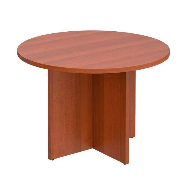Стол для переговоров круглый Патриот ПТ 189 Миланский орех