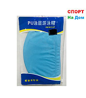 Шапочка для плавания PU SWIMMING CAP (цвет голубой)