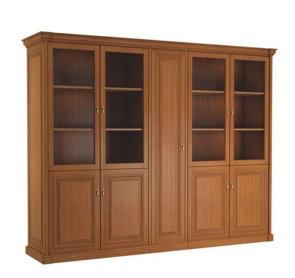Шкаф с отделением для одежды LDN12955001 Вишня