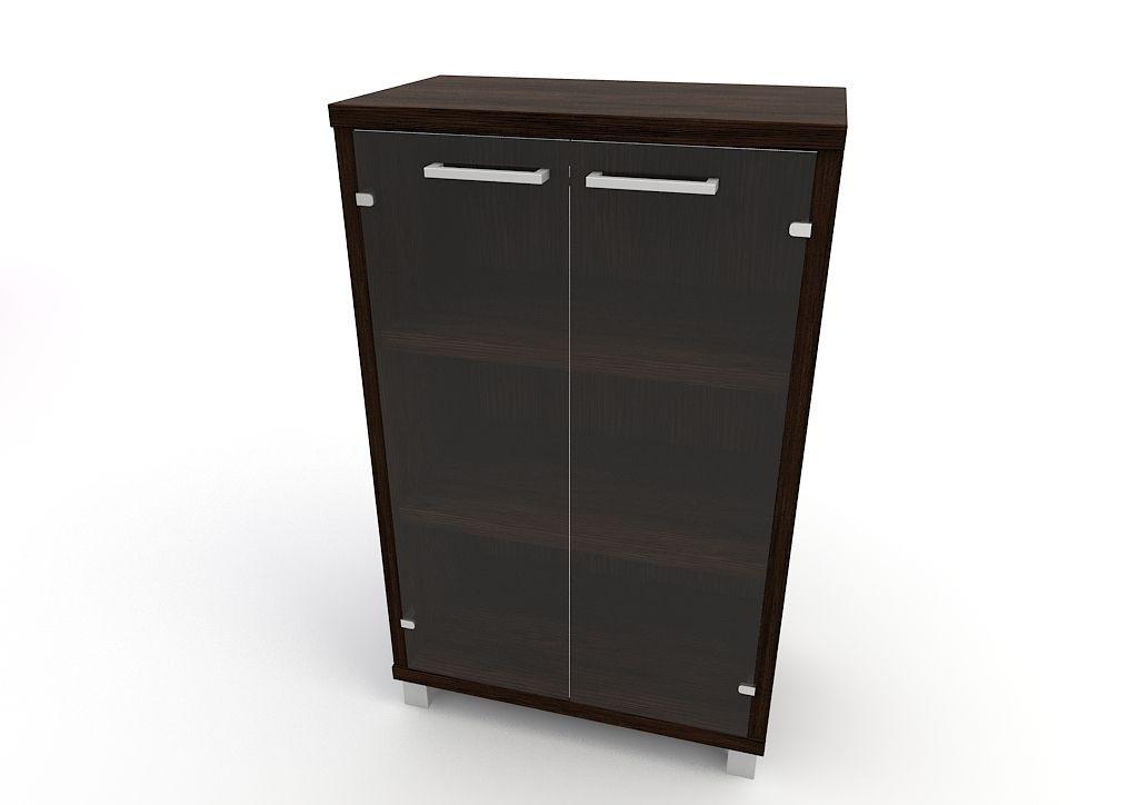 Шкаф для документов крWs-3/9 Венге темный
