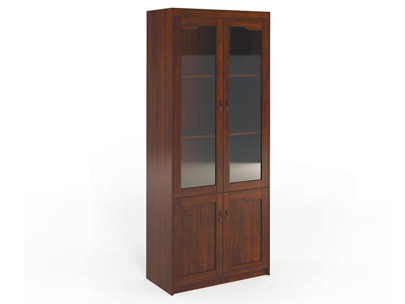Шкаф для бумаг HVD2250001 темный орех