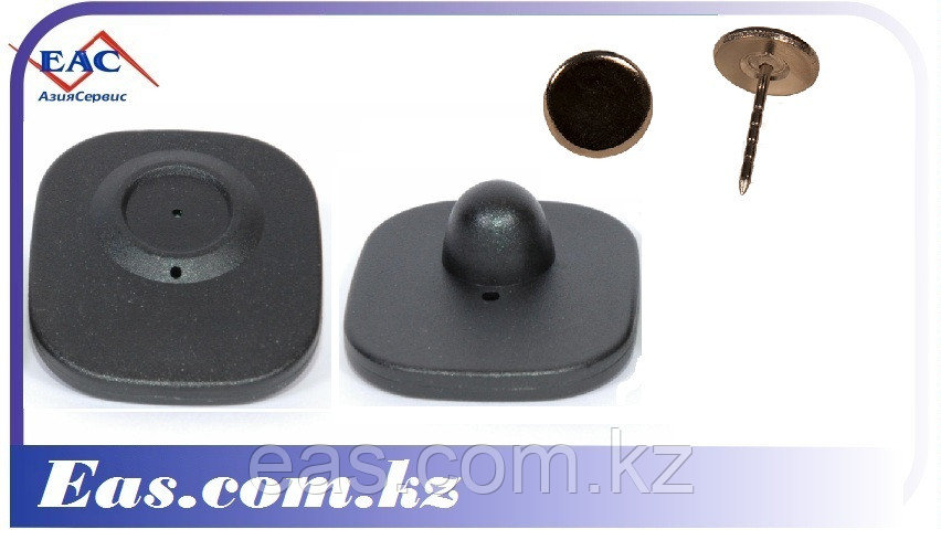 Антикражный Защитный датчик - Mini Square 40х50 мм с гвоздиком