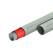 Труба ППР стекловолокном серый (PN 20) 20 Jakko