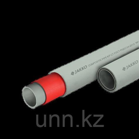 Труба ППР стекловолокном серый (PN 20) 20 Jakko, фото 2