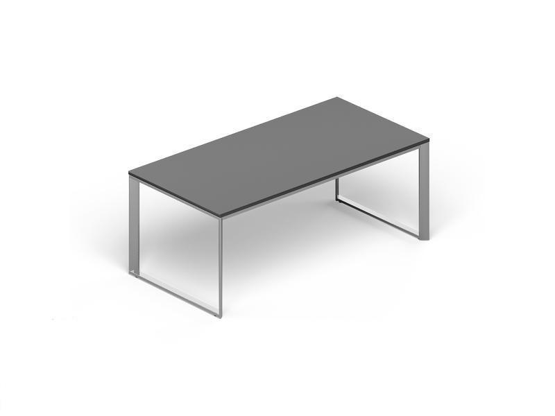 Стол рабочий CARRE 200х100х72см меламин Венге