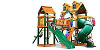 """Детская площадка """"Альпы 2 Ривьера"""", подвесной, мост, перила, скалодром,стол, песочница, телескоп"""