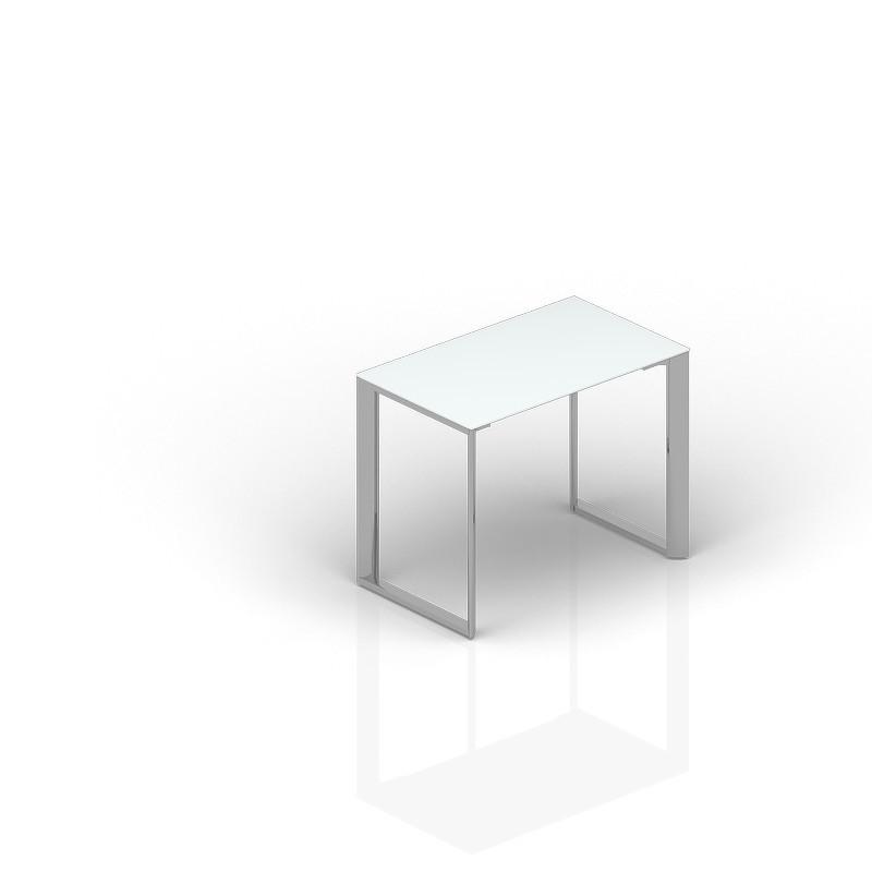 Приставной стол CARRE 100х60х71см стекло