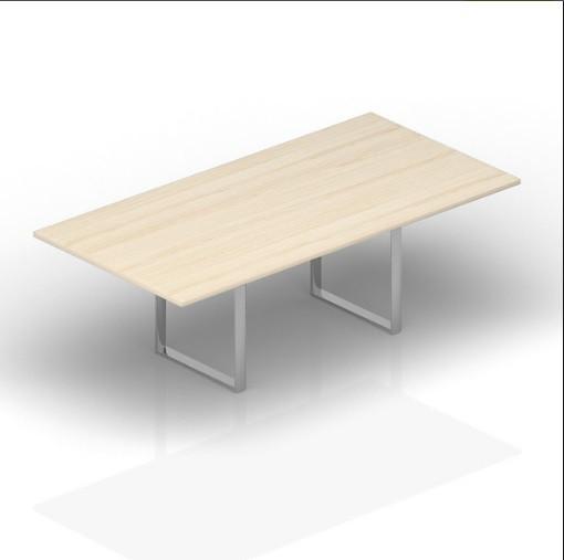 Стол для совещаний CARRE 240х120х72см меламин Акация аури