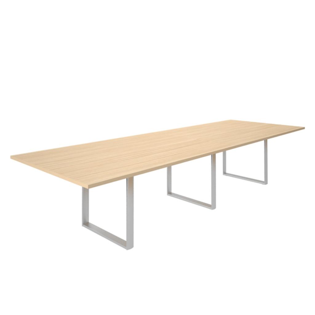 Стол для совещаний CARRE 360х120х72см меламин Акация аури