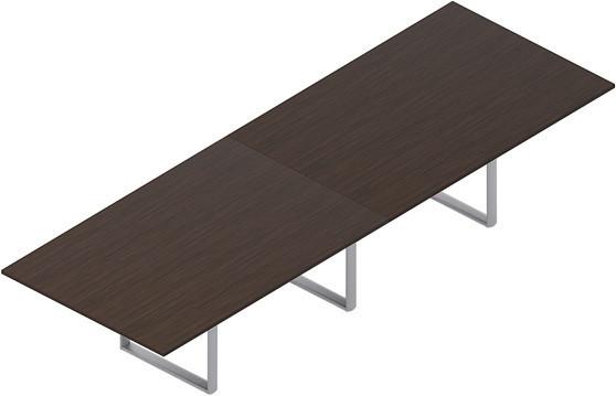 Стол для совещаний CARRE 360х120х72см меламин Орех