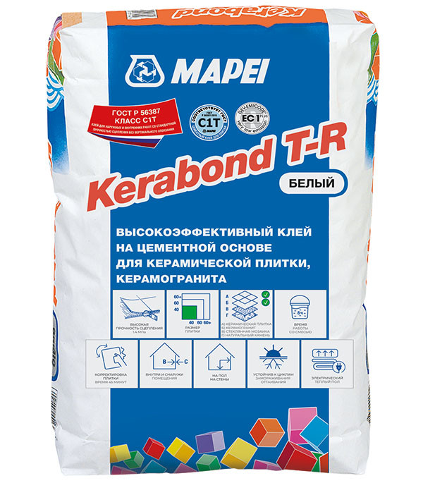 Kerabond TR клей для плитки (белый)