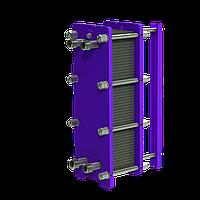 Разборный теплообменник на ГВС 100 кВт