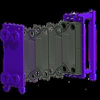 Разборный теплообменник на паровые задачи 70 кВт