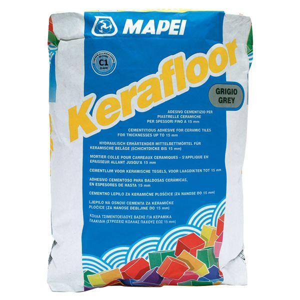 Kerafloor клей для керамической плитки (до 15 мм)