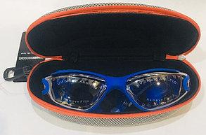 Очки для плавания Speedo (с затычками для ушей, цвет синий), фото 2