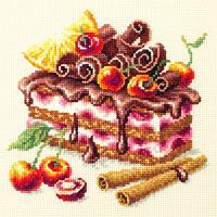 """Набор для вышивания крестом """"Вишневый торт"""""""