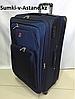 Большой дорожный чемодан на 4-х колесах Swissgear. Высота 77 см, длина 47 см, ширина 32 см.