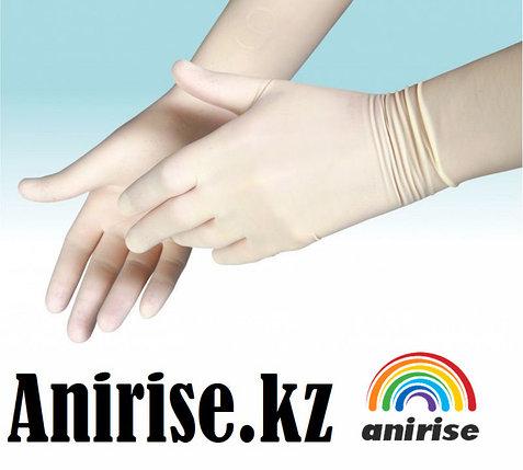 Перчатки стерильные  хирургические с длинной манжетой., фото 2