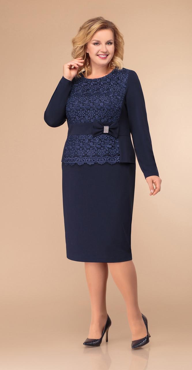 Платье Svetlana Style-1275, темно-синий, 54