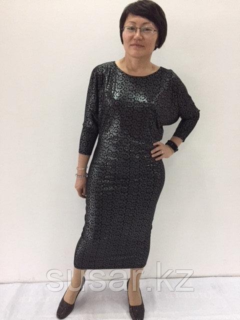 Дизайнерское платье облегающее