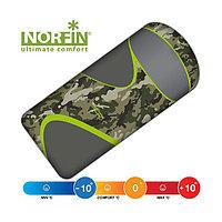Спальный мешок NORFIN SCANDIC COMFORT PLUS 350 CAMO, молния справа