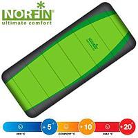 Спальный мешок NORFIN LIGHT COMFORT 200 FISHING, молния справа