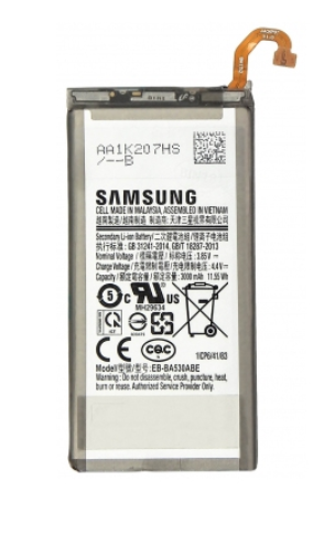 Заводской аккумулятор для Samsung Galaxy A8 2018 (EB-BA530ABE, 3000 mah)