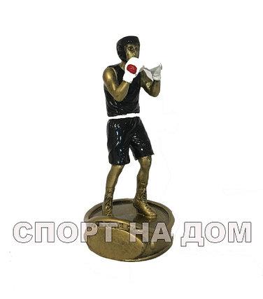 """Статуэтка """"Боксер в черном"""", фото 2"""