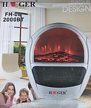 Тепловентилятор  3 Д  Камин Haeger FH-08 2000вт, фото 3