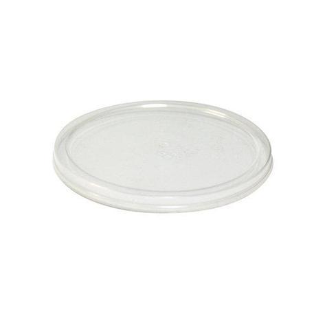 Крышка прес./мёд, d 96мм, h 15мм, п/прозрачн., ПП, 420 шт, фото 2