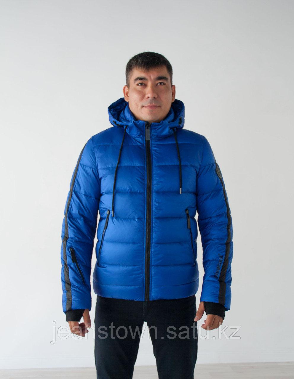 Куртка мужская зимняя Vivacana короткая синяя