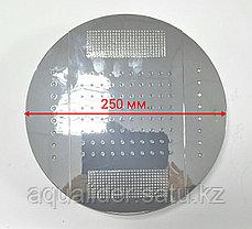 Комбинированный верхний душ с светодиодной подсветкой 250 мм., фото 3