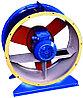 Вентилятор осевой ВО-14-320-4 с эл.дв 0,75Х3000 | 7500 м3/час