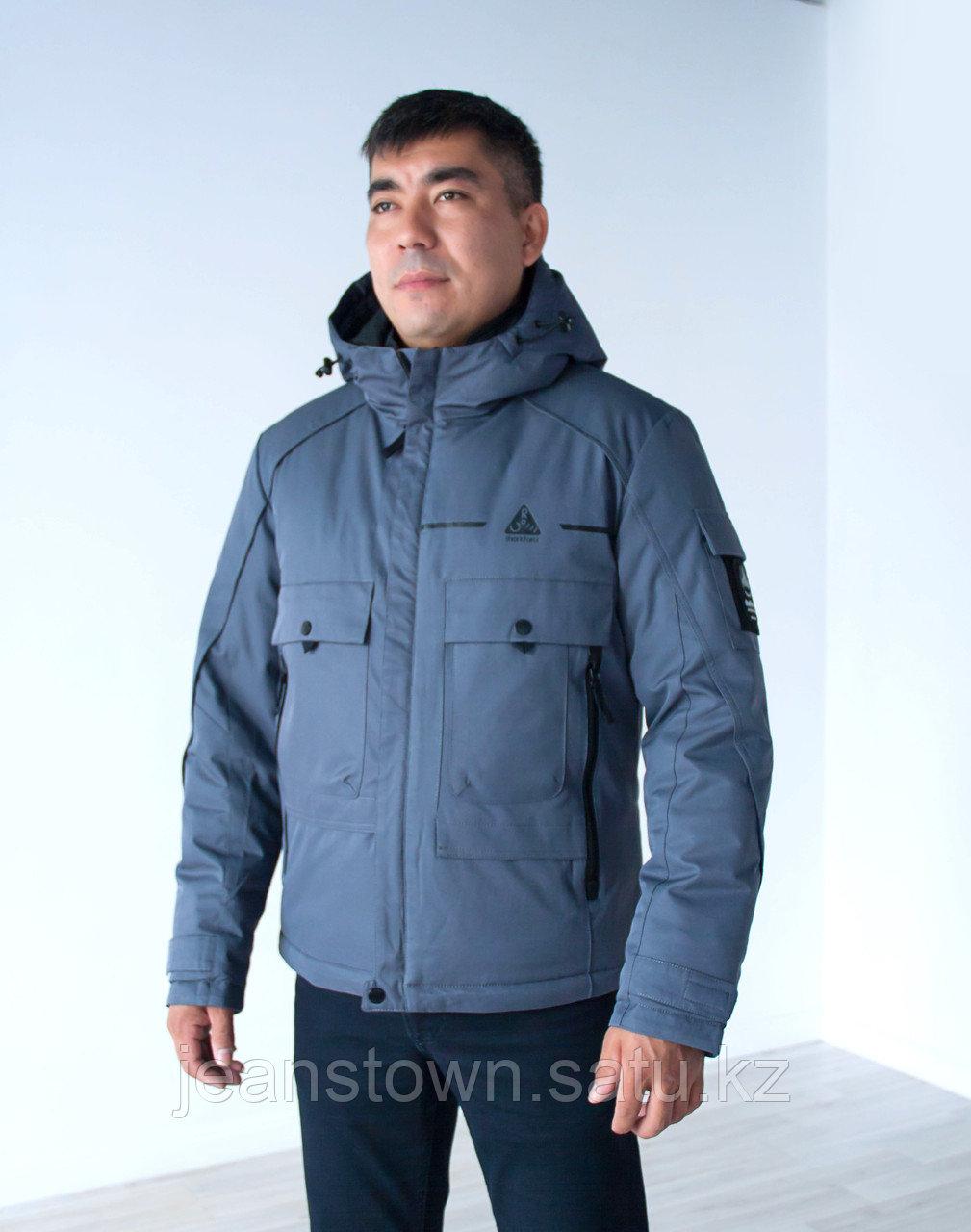 Куртка мужская зимняя Shark Force серая