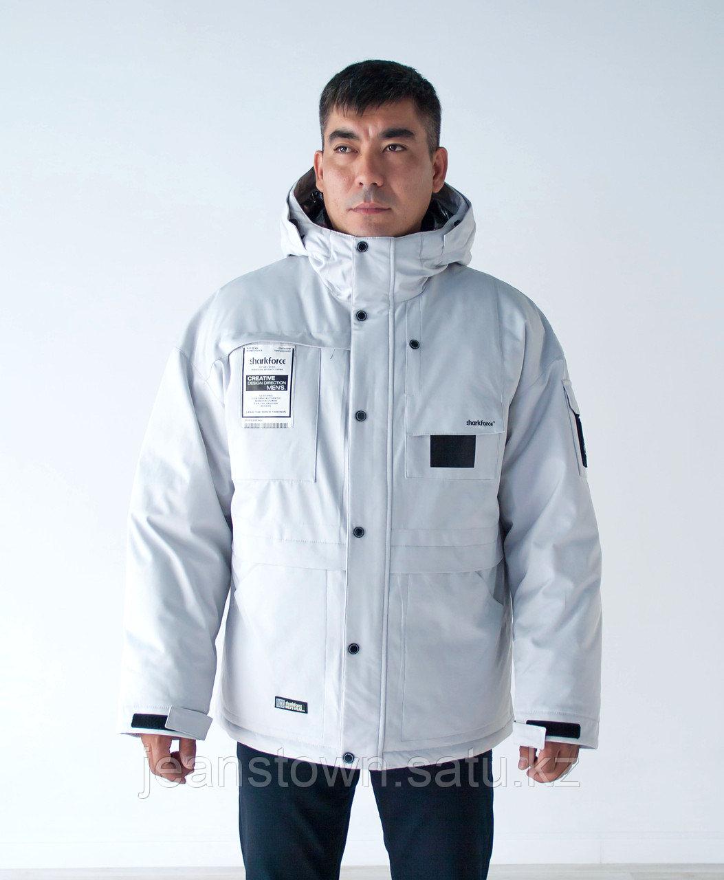Куртка мужская зимняя Shark Force белая