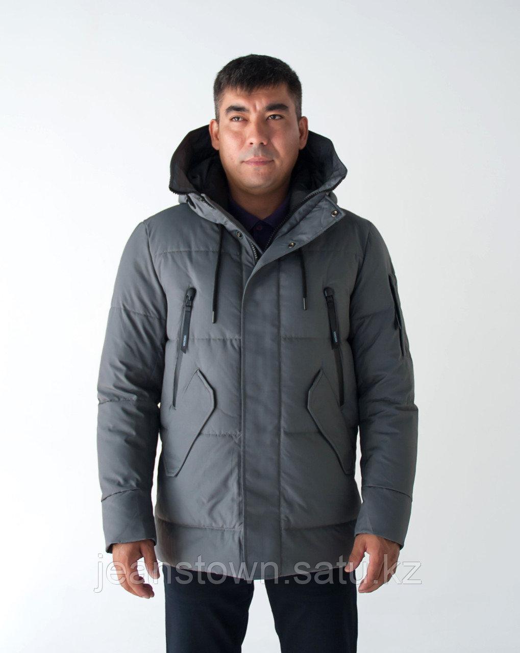Куртка мужская зимняя Vivacana серая