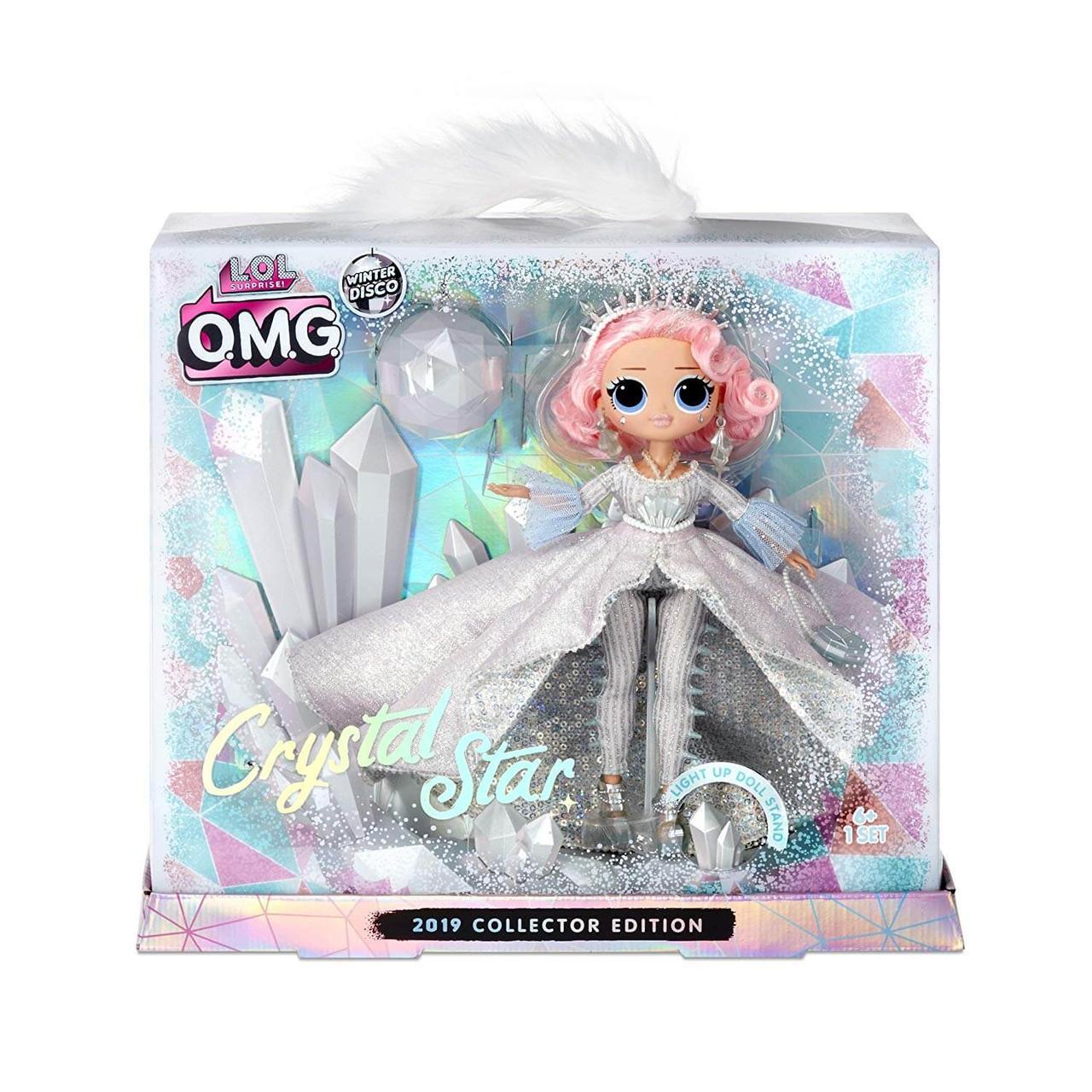 Лол Crystal Star Хрустальная Звезда (коллекционная) L.O.L. Surprise! O.M.G. Winter Disco - фото 1