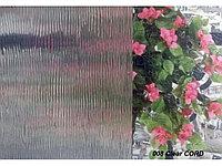 Рельефная витражная пленка Clear Cord 008